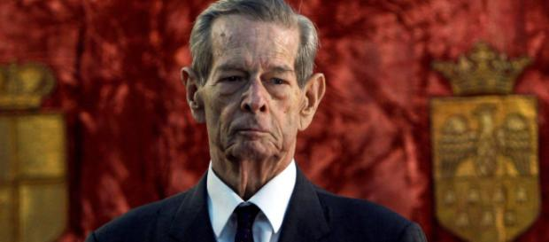 El fallecido ex Rey de Rumanía, Miguel I, en una imagen de 2013, cuando tenía 92 años.