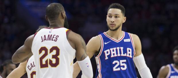LeBron James has high hopes for Ben Simmons - (Image: YouTube/NBA)
