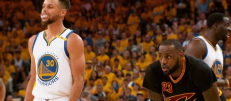 An ankle injury will prevent Stephen Curry from facing LeBron James on Christmas Day. -- [NBA via YouTube]