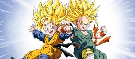 Los personajes Goten y Trunks en DBS. - misiontokyo.com