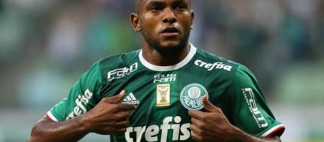 Miguel Borja, atacante do Palmeiras