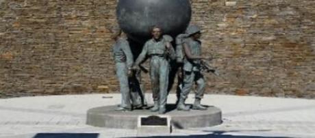 Walk of Heroes Veterans War Memorial- (Image via Rockdale County/Georgia Sheriff's Office)