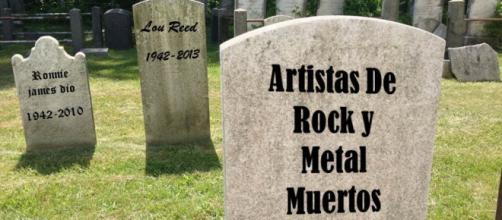 Artistas de rock y metal muertos (loquendo) - YouTube - youtube.com