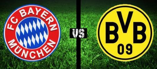 Bayern München vs Borussia Dortmund.