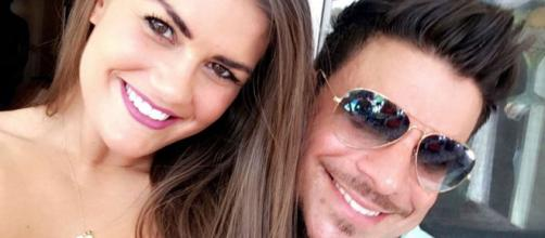 Brittany Cartwright poses with Jax Taylor. [Image via Cartwright/Flickr]