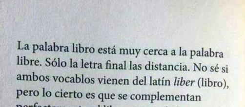 Definición de libro por Sergio Pitol