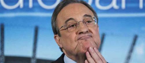 Florentino Pérez não está gostando nada disso