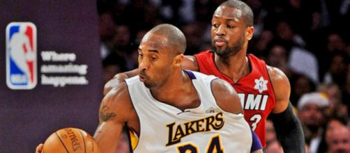 Dwyane Wade shares his amazing Kobe Bryant story about their first matchup - [Image Credit: Kobe Can/Youtube]