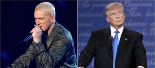 Le rappeur Eminem s'en prend à Donald Trump