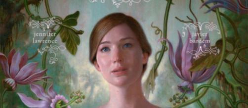 """Poster de Jennifer Lawrence no filme ''Mother!"""""""