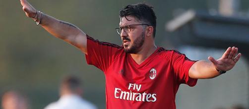 Rino Gattuso, allenatore del Milan