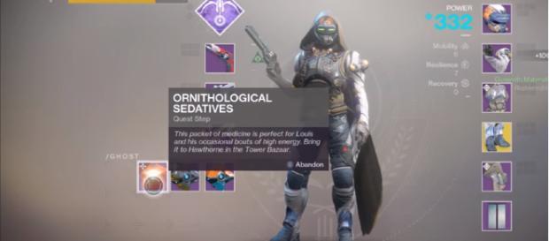 A screenshot from 'Destiny 2.' - [YouTube screencap / MoreConsole]