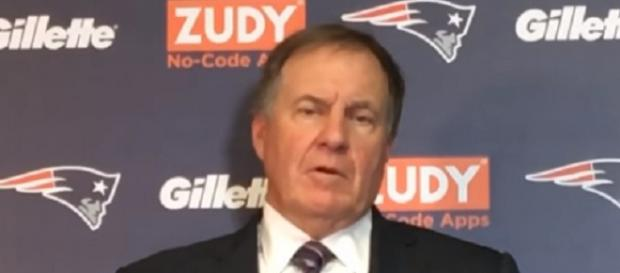 Bill Belichick is preparing the Patriots for their clash with the Bills (Image Credit: MassLive/YouTube)