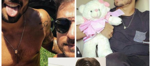Caio Castro em fotos postadas no seu perfil no Instagram. Ator apresentará reality na MTV