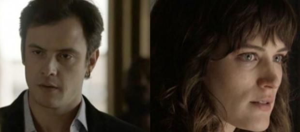Gael surpreende Clara ao sair da cadeia. (Foto: Divulgação TV Globo)