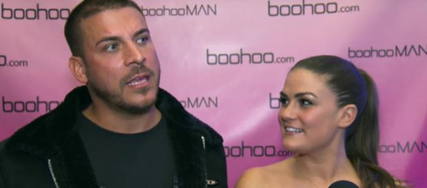 Jax Taylor accuses Brittany Cartwright of going home with an ex-boyfriend. [via: YouTube/E! Live From The Red Carpet]