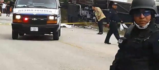 Mexiko: Busunglück mit zwölf toten Touristen - web.de