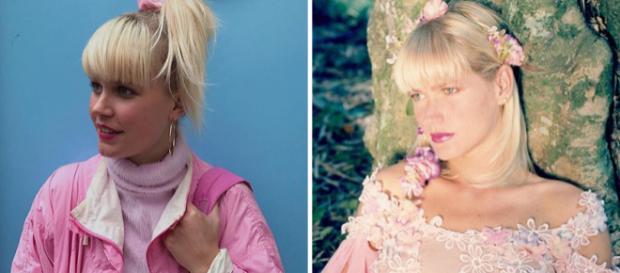 Responda rápido: qual das duas fotografias é da Xuxa e qual é de sua sósia holandesa? Fotos: Reprodução.