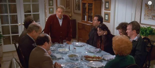 The celebration of Festivus at the Costanza household - image - TBS / Youtube