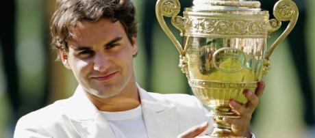 FOTOS: Roger Federer, 8 veces campeón de Wimbledon   Publimetro México - com.mx