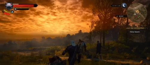 [4K] The Witcher 3: PS4 Pro Analysis, PC Comparisons + Frame-Rate Tests! DigitalFoundry/Youtube.com (screenshot image)