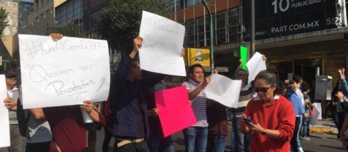 Alumnos de CEU PART exigieron sus derechos en las calles
