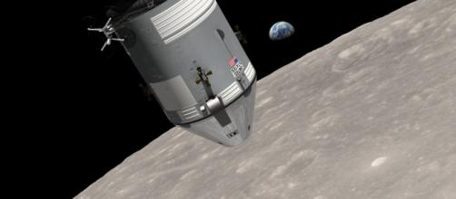 Apollo 8 Earthrise [image courtesy NASA]