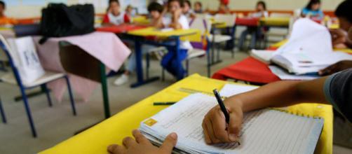 Brasil tiene muchos estudiantes sin escuela