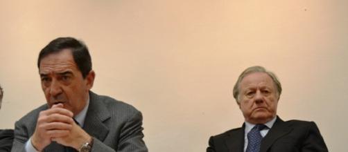 Franco Mugnai e Altero Matteoli (Foto: Archivio GoNews.it)