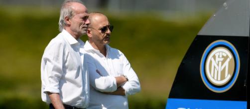 Inter, c'è Cancelo. Sabatini e Ausilio all'allenamento - Corriere ... - corrieredellosport.it