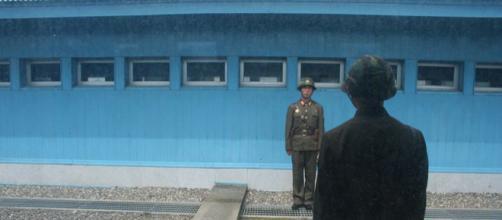 North Korea border guards (Image Credit – Michael Day, Wikimedia Commons)