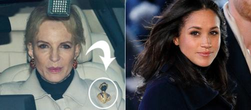Princess Michael of Kent's racist brooch will make you look twice. Image Credit: Blasting News