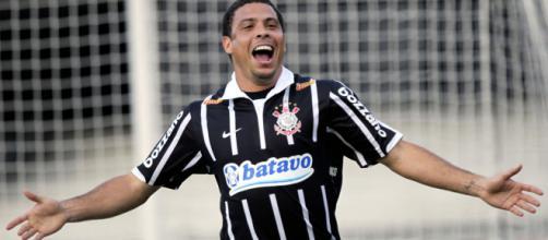 Ronaldo pelo Corinthians em 2009