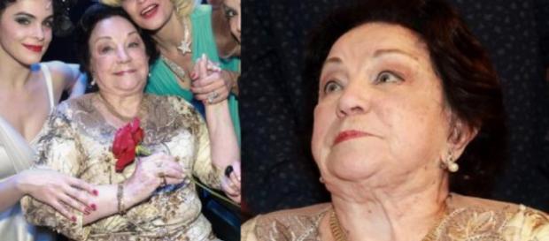 Lolita Rodrigues, de 89 anos, gostaria de voltar a trabalhar