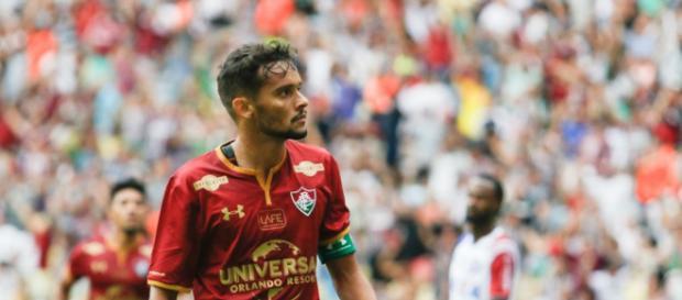 Aumentam as chances de Gustavo Scarpa trocar o Flu pelo Palmeiras (Foto: Globo.com)