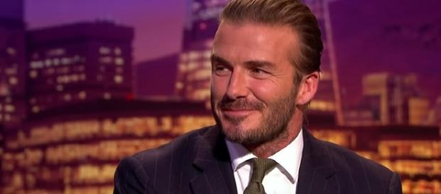 David Beckham. - [The Late Late Show With James Corden / YouTube screencap]