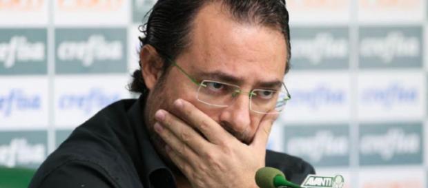 Diretor de Futebol do Palmeiras, Alexandre Mattos