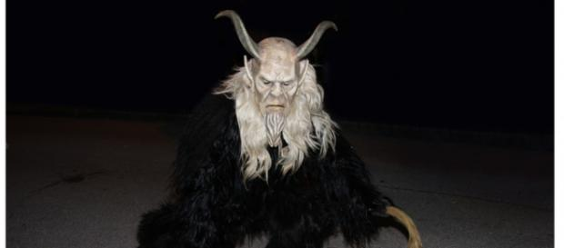 Europeans celebrate the evil goat demon Krampus. (Image via 7244907/Pixabay).