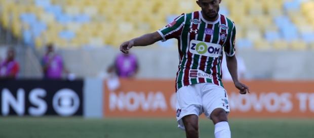 Gustavo Scarpa, jogador do Fluminense