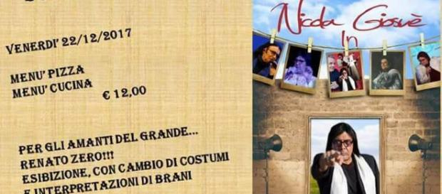 Locandina del nuovo evento di Nicola Giosuè