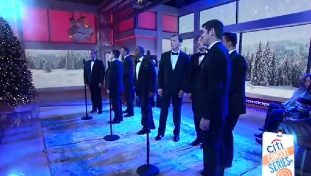 Straight No Chaser serenades \'Today\' morning in Christmas spirit