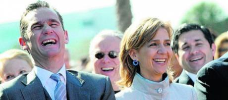 Iñaki Urdangarín y la infanta Cristina