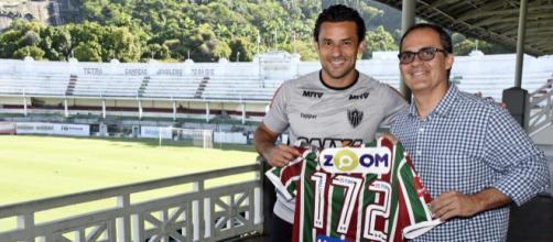 Fred marcou 172 gols com a camisa do Fluminense