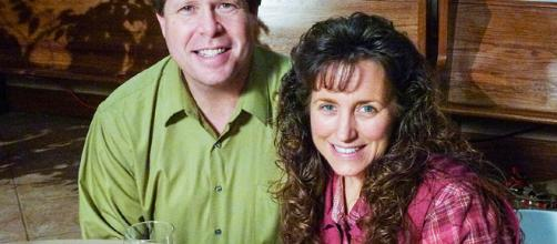 Michelle and Jim Bob Duggar from social network post