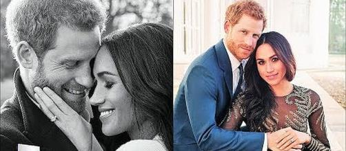 Prince Harry and Meghan Markle's engagement photos [Image: Entertainment News Magazine/YouTube screenshot]