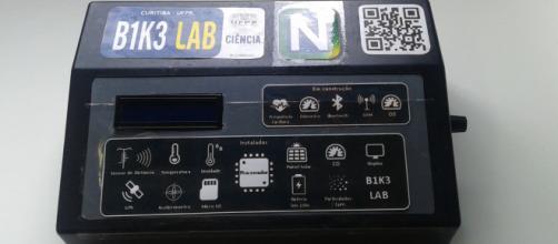 Protótipo do B1K3 Lab (Crédito: Fernanda Z. N. Moreira)
