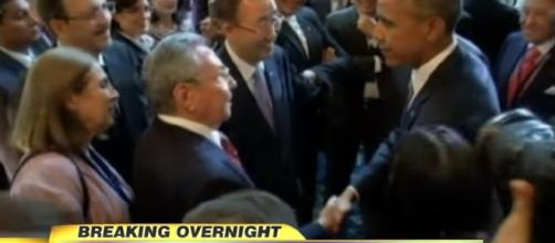 Raul Castro confirms he will stay Cuba's president to April. - [ABC News / YouTube screencap]