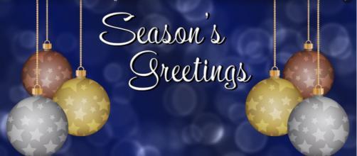 """Seasons Greetings"" is an appropriate holiday phrase. - [Image via Maialisa Pixabay]"