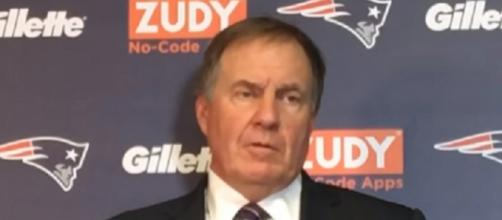This was the first time that Bill Belichick spoke at length about Guerrero (Image Credit: MassLive/YouTube)