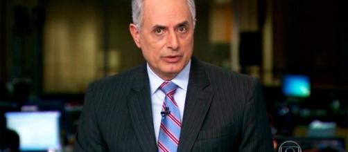 William Waack foi demitido pela rede Globo